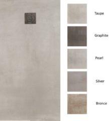 Struker Douchebak Composiet Betonlook Concrete (In meerdere maten en kleuren beschikbaar)