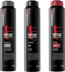 Grijze Goldwell - Topchic Depot Bus - 5-BV Reallusion Sparkling Brown - 250 ml