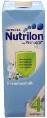 Nutrilon Dreumes Groeimelk 4 - kant en klaar - Flesvoeding -1000 ml