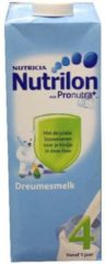 Nutrilon Nutrilon 4 dreumes groeimelk liquid 1000ml