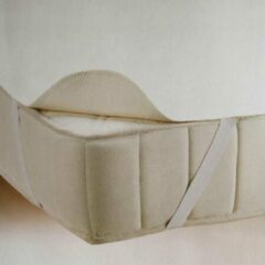 Witte Klaas Vaak Molton Matrasbeschermer Plateau (B-keuze)- Litsjumeaux XL - 200x200 cm