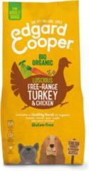 Edgard-Cooper Edgard&Cooper Bio Organic Turkey Adult Kalkoen&Kip&Wortel - Hondenvoer - 7 kg Biologisch