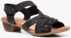 Blue Box dames hak sandalen - Zwart - Maat 38