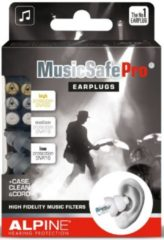 Alpine Hearing protection Alpine MusicSafe Pro oordoppen - transparant