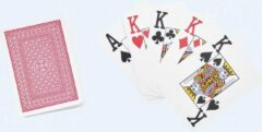 Able2 / StelComfort Speelkaarten poker groot logo