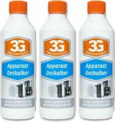 3G Professioneel Apparaten Ontkalker Voordeelbox - 3 x 500 ml