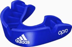 Adidas Gebitsbeschermer Opro Gen4 - Bronze Edition - Blauw - Senior