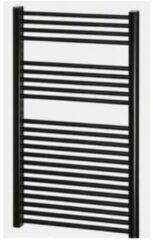 Badkamerdepot Designradiator Nile Gobi 110x60cm Zwart (zij- of midden-onderaansluiting)