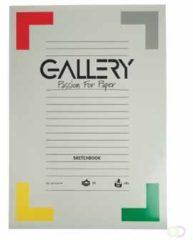 Gallery schetsblok formaat 297 x 42 cm (A3) 180 g/m�� blok van 50 vel