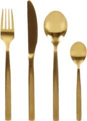 Besteck-Set, 24-tlg. IMPRESSIONEN living goldfarben