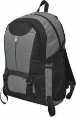 SJ interiors Backpack Rugzak Grijs Zwart 40L - Militaire leger tas - Plunjezak - Sporttas - Hiking rugzak