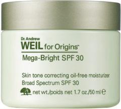 Origins Gesichtspflege Feuchtigkeitspflege Dr. Andrew Weil for Origins Mega-Bright Skin Tone Correcting Oil-Free Moisturizer SPF 30 50 ml
