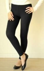 AWR Premium Dames Legging Viscose   Basic Legging   Zwart - XXXL