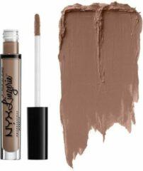 Taupe NYX Professional Makeup NYX Lip Lingerie Liquid Matte Lipstick - LIPLI21 Delicate Lust