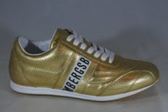 Goudkleurige Bikkembergs sneaker Bahia gold maat 39
