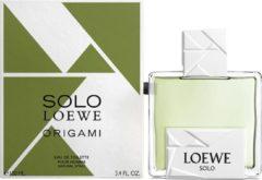 Loewe - Herenparfum Solo Loewe Origami Loewe EDT - Mannen - 100 ml