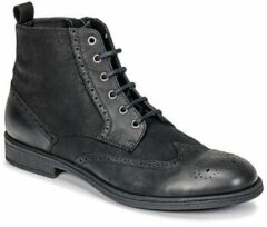Zwarte Boots en enkellaarsjes U JAYLON G U84Y7G by Geox