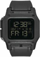 Nixon Regulus A1180001 - Horloge - Siliconen - Zwart - 46mm