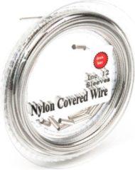 Zilveren Midnight Moon Staaldraad Nylon Gecoat 7X7 - Onderlijnmateriaal - 300lb