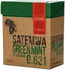 Satemwa groen Mint Thee - 12 Tea Bags