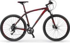 """MBM Mountainbike 27,5"""" BRIDER TWENTYSEVEN.5 Schwarz-Rot"""