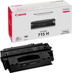 Zwarte Canon 715 - Tonercartridge / Zwart / Hoge Capaciteit