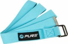 Pure2Improve - Yoga riem - 180 cm - blauw - yogariem
