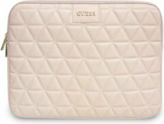 Guess Quilted Laptop Sleeve voor Laptops t/m 13 inch - Roze