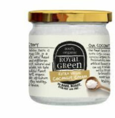 Royal Green Royal groen Coconut cooking cream Extra Virgin 325 ml