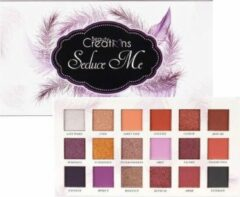 Paarse Beauty Creations Seduce Me Eyeshadow Palette 18 Colors - E18S