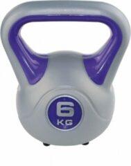 Blauwe SVELTUS Kettlebell fit 6 kg