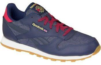 Afbeelding van Marineblauwe Reebok Classic Leather DG AR2042, Kinderen, Marineblauw, Sneakers maat: 36,5 EU