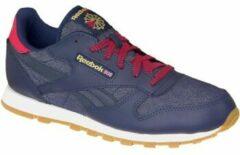 Marineblauwe Reebok Classic Leather DG AR2042, Kinderen, Marineblauw, Sneakers maat: 36,5 EU