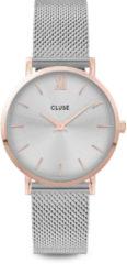 Goudkleurige CLUSE Minuit horloge van roestvrijstaal CW0101203004