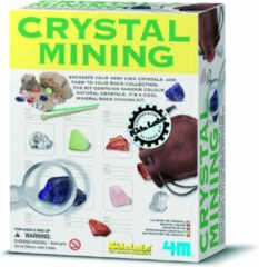 Witte 4M Kidzlabs: Opgraafkit Kristalmijn (franstalig)