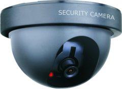 Zwarte Smartwares CS44D - Dummy dome camera - voor binnen - Inclusief LED lampje - zwart