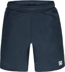Marineblauwe Re-Born Sports Re-Born Geweven Stretch Short Heren - Navy - Maat L