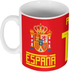 Rode Retake Sergio Ramos Spanje 15 Mok