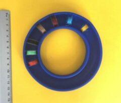 Blauwe Merkloos / Sans marque Spoeltjes bewaar opberg-ring, voor 25 naaimachine spoeltjes