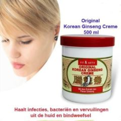 2-Pack Original Korean Ginseng Creme 500 ml