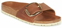 Birkenstock Madrid Big Buckle bruin sandalen dames (S) (1006525)
