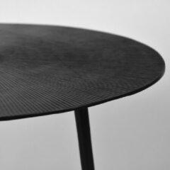 LABEL51 Nobby Bijzettafel voor binnen - Zwart - Metaal - 40 cm