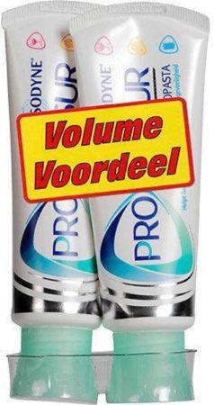Afbeelding van Sensodyne Proglasur - 2x 75 ml - Tandpasta - Voordeelverpakking