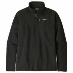 Patagonia - Better Sweater 1/4 Zip - Fleecetrui maat XL, zwart