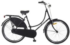 26 Zoll Popal Omafiets OM26 Damen Holland Fahrrad Popal schwarz