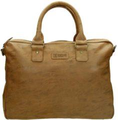 Bruine Enrico Benetti Madrid 54600006 - Laptoptas 15.6 inch Bruin