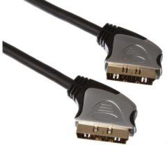 LegaMaster SCART PLUG (21 PIN) NAAR SCART PLUG (21 PIN)/PROFESSIONEEL / 2.50m