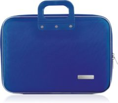 Blauwe Bombata NYLON BUSINESS LAPTOP CASE – Laptoptas – 15,6 inch / Kobalt