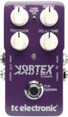Groene TS Electronic TC Electronic Vortex Flanger flanger/phaser pedaal