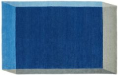 Puik - Iso Vloerkleed 260 x 162 cm Rectangle Blauw